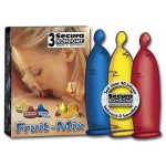 Prezervative aromate Secura Fruits 3buc